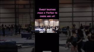 Gymnastics bar fail!