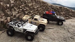 SXC10-2, SCX10 RC Adventure Norway, Lahellholmen 4x4