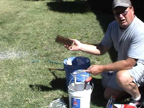 the secrets of professional paint roller cleaning youtube. Black Bedroom Furniture Sets. Home Design Ideas