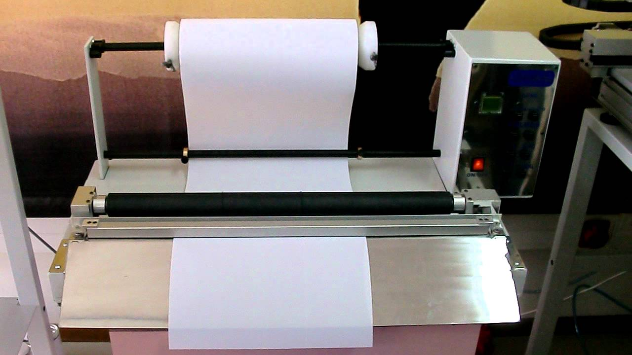 Gemfix 60 Xc Roll To Sheet Cutter Youtube