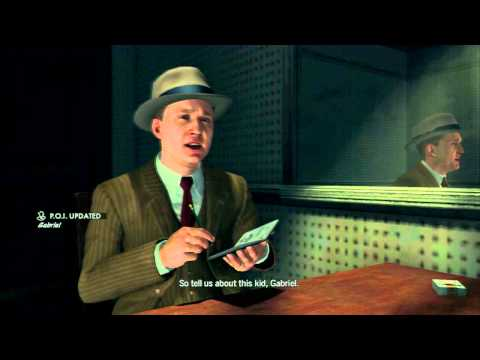 The Consul's Car - Objective 3: Question Juan Valdez - L.A. Noire