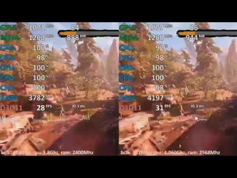AMD A12-9800 BCLK Overclocking Test