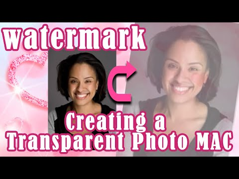 How to Create a Watermark or Transparent Photo in Apple iWork Pages