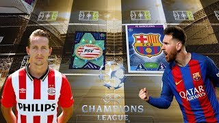 MECZ PSV VS FC BARCELONA LIGA MISTRZÓW ( CHAMPIONS LEAGUE ) KTO WYGRA?