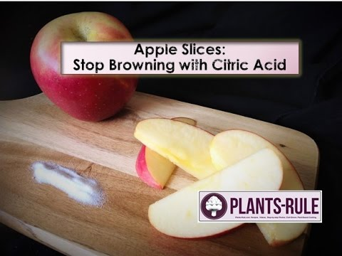 Apple Slices Without Browning: How to Use Citric Acid to Stop Oxidation from Plants-Rule