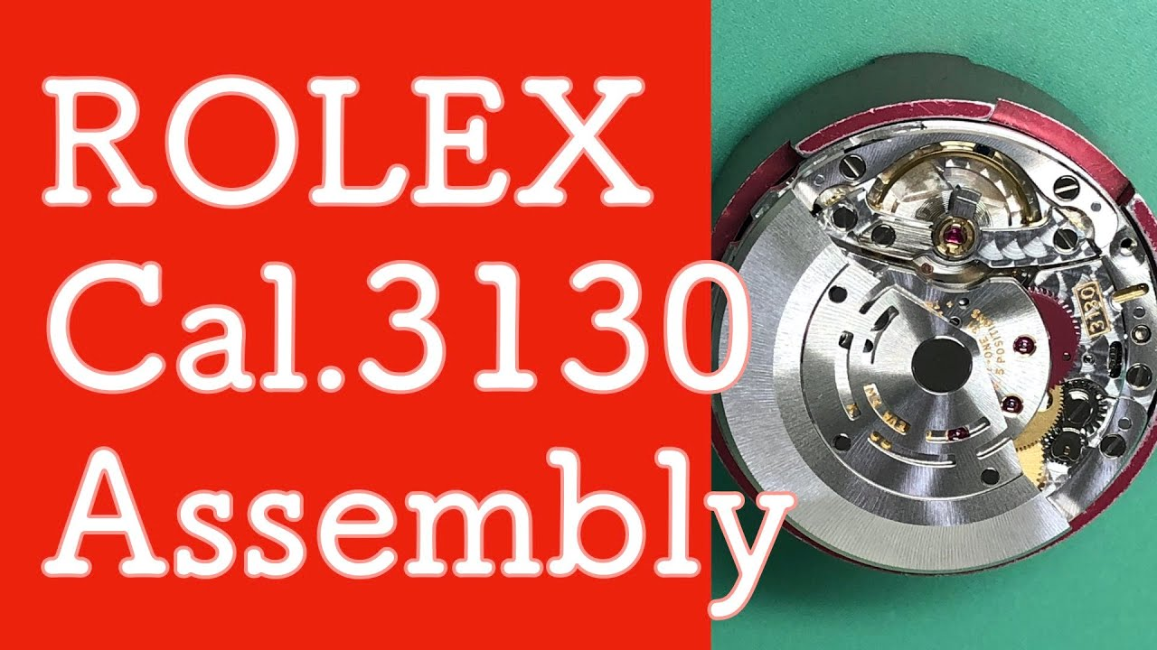 Download 【組立作業動画#14】ロレックス/ROLEX SUBMARINER  Cal.3130|Assembly |Watch Repair & Overhaul