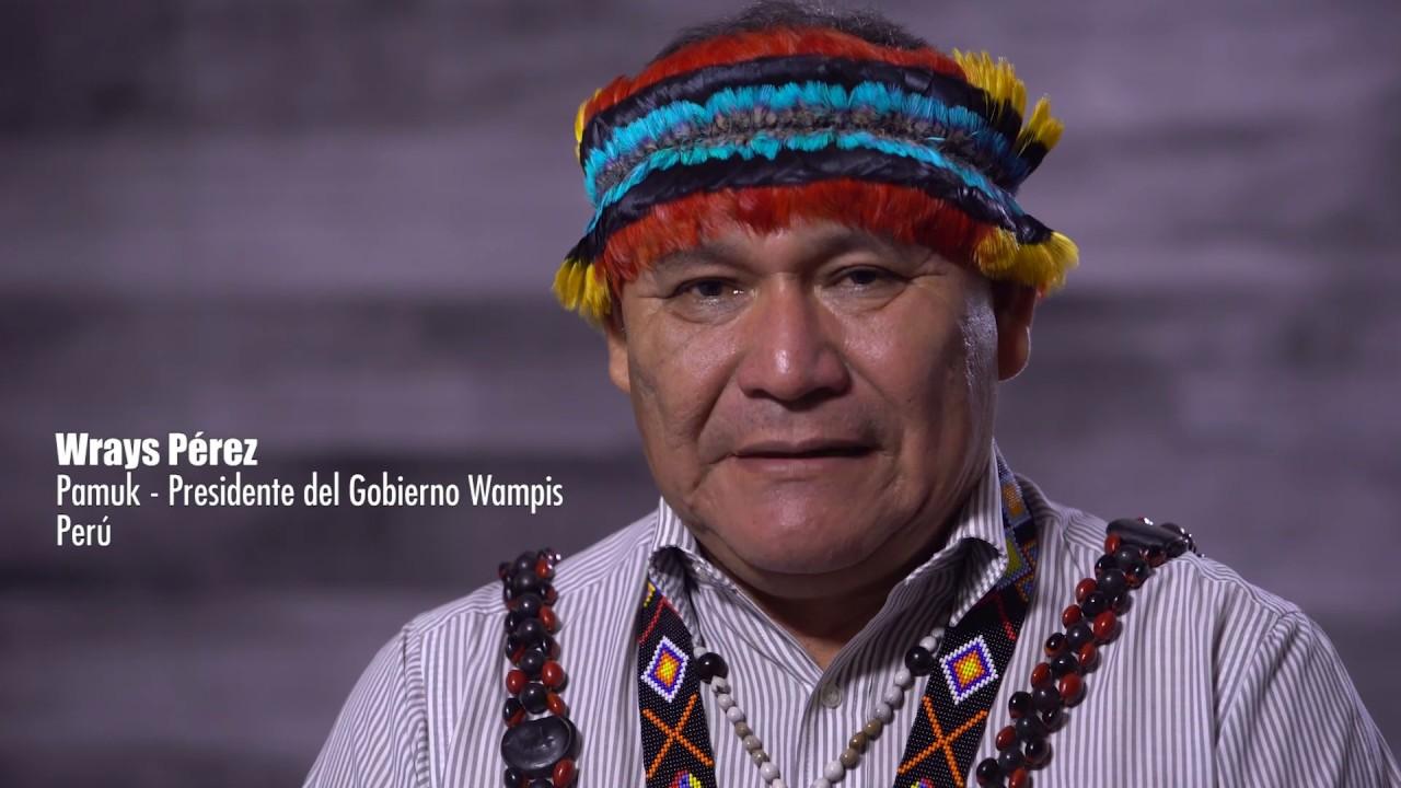 Entrevista con Wrays Peréz - Gobierno Wampis - YouTube
