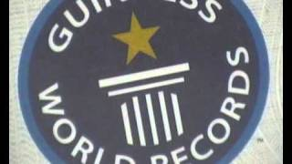 With the Guinness World Record Certificate