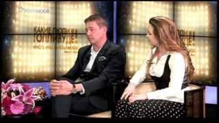 "Alexander Gershman and Carina Cooper on TV-show ""Who"