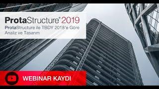 ProtaStructure ile TBDY 2018'e göre Analiz ve Tasarım