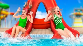 College in Water Park!