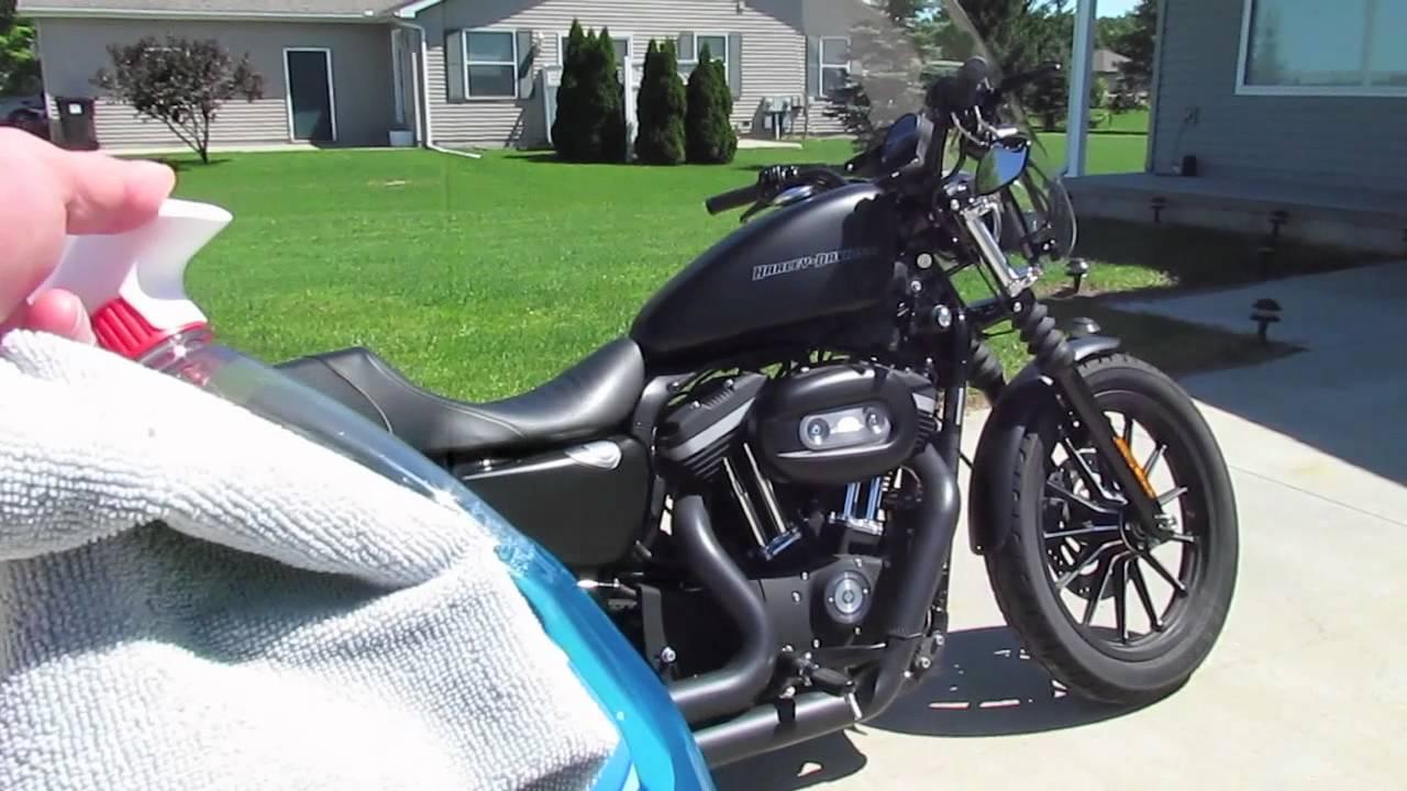 Harley Davidson Cleaning Tip: Denim Paint - YouTube