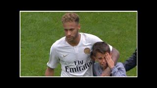 Neymars Gaben: PSG-Star schenkt weinendem Kind sein Trikot