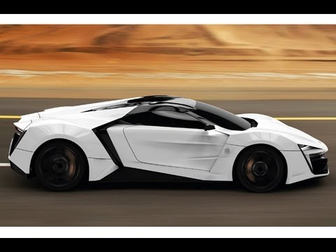 The First Arabic Supercar- Lykan Hypersport