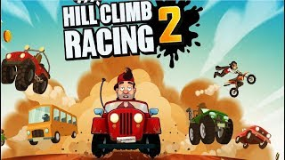 Hill Climb Racing 2 #1 игра как мультик про тачки гонки машинки на андроид #Мобильныеигры