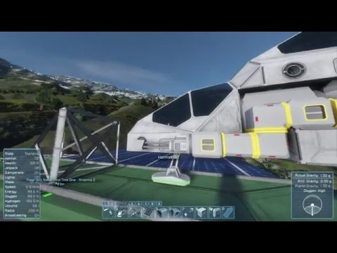 Space Engineers Ep 6 The Solar Plane