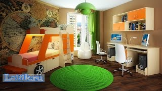 Двухъярусная кровать машина Джип. Модульная мебель Фанки Кидз. Интернет-магазин