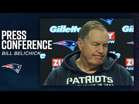 "Bill Belichick: ""We're closing in on the biggest game of the year"" 