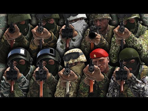 ARMA3 | All BEST RUSSIAN OUTFITS [1440p60 Quality]
