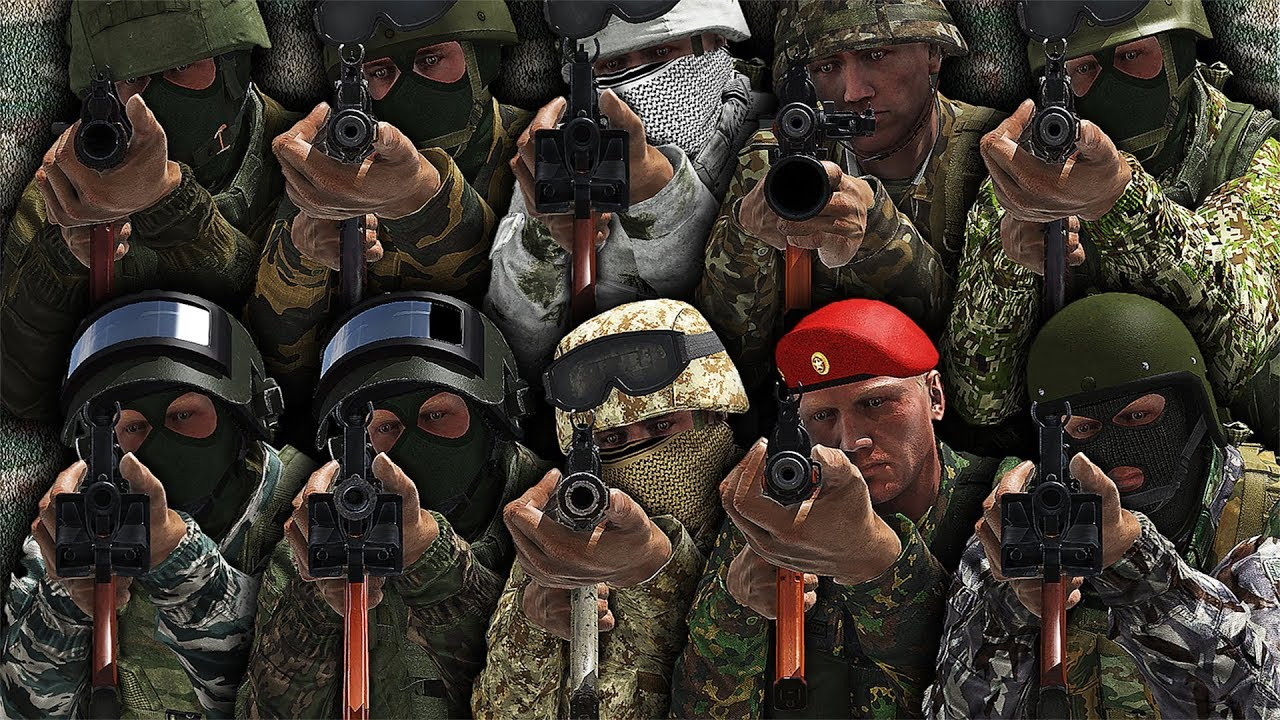 ARMA3 | All BEST RUSSIAN OUTFITS [1440p60 Quality] - YouTube