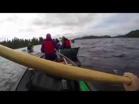 Kanotur Lapland 2016