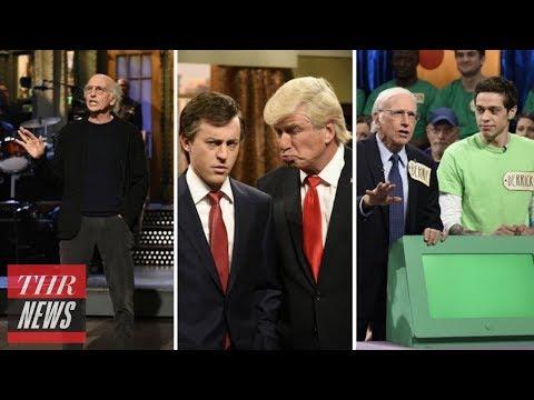 Download Youtube: 'SNL' Rewind: Larry David Sparks Controversy, Alec Baldwin's Trump Mocks Weinstein | THR News