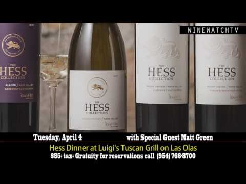 Hess Dinner at Luigi's Tuscan Grill on Las Olas Tuesday April 4th - click image for video