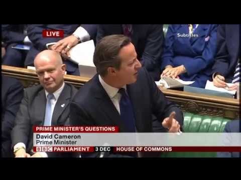 David Cameron: maso-sadism