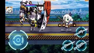 Guns Girl Z - Gameplay 1 - Bronya Medium Battle