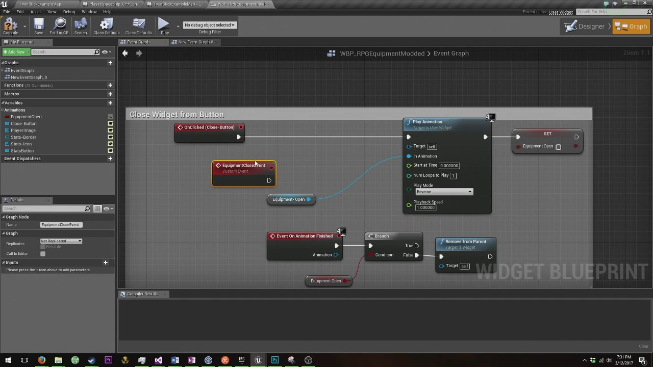 Unreal engine 4 how to reverse an animation on closing widget unreal engine 4 how to reverse an animation on closing widget malvernweather Images