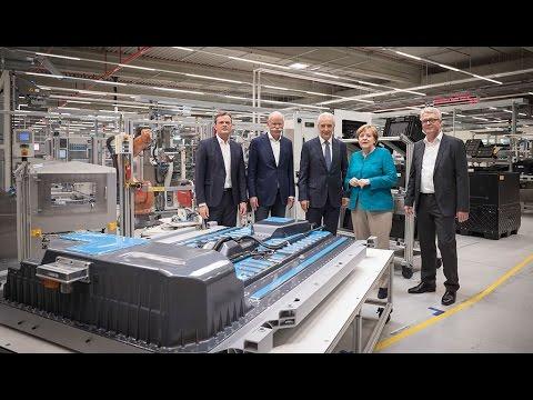 Daimler Elektroauto-Batteriefabrik Kamenz - Werkrundgang