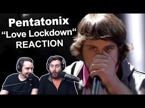 Pentatonix  Love Lockdown  Kanye West Sing Off Reaction