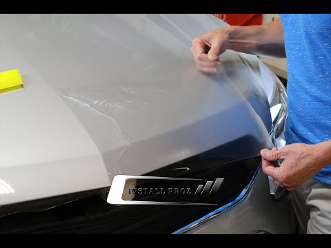 How To Install Clear Paint Protection Bra Hood and Fender Kit