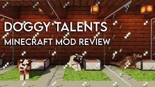 Doggy Talents | 1.15.2 Mod Spotlight