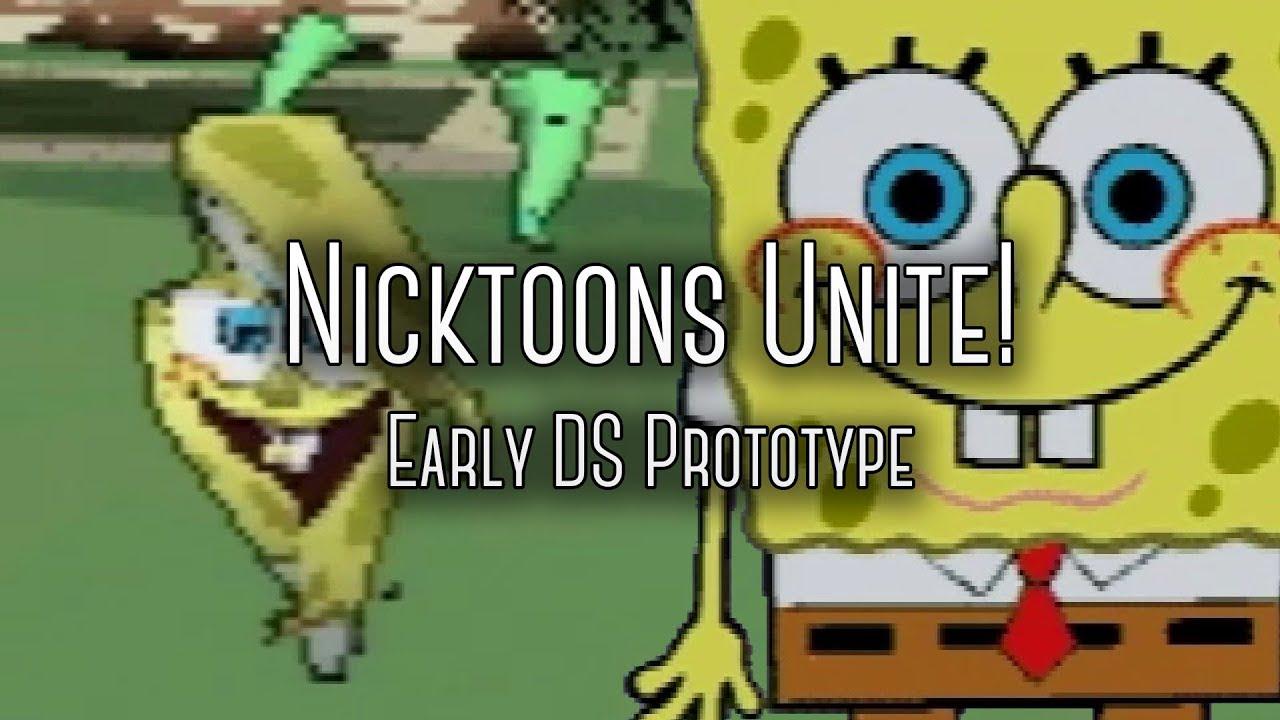 Nicktoons Unite! Nintendo DS Gameplay - Basic gameplay