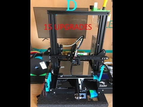 photo about Ender 3 Printable Upgrades called 15 updates for your Ender-3