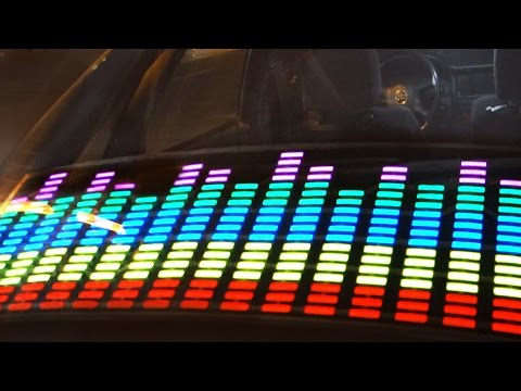 LUCES AL RITMO DE LA MUSICA | Como instalar un Ecualizador LED en el Coche