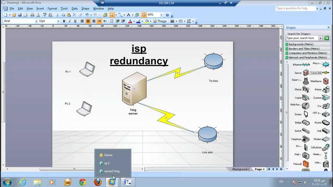 hight resolution of 7 isp redunduncy