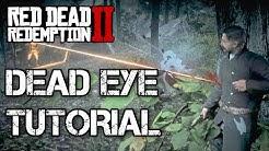 Red Dead Redemption 2 Dead Eye Tutorial / RDR 2 Dead Eye German Deutsch Guide