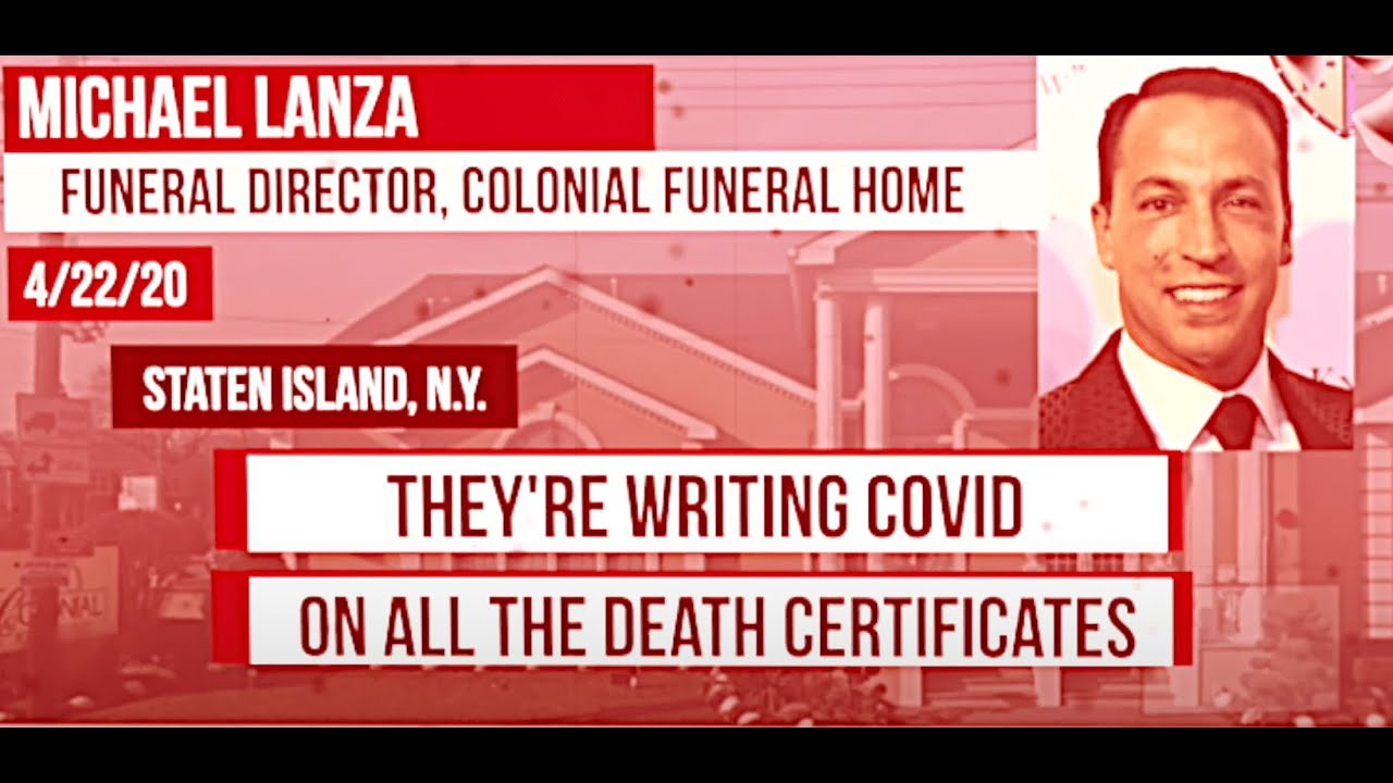 BREAKING: Funeral Directors in COVID-19 Epicenter Doubt Legitimacy of Deaths Attributed to Pandemic