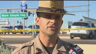 RAW VIDEO: DPS press briefing on crash involving troopers in Phoenix