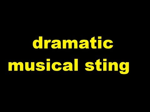 dramatic musical sting Sound Effect