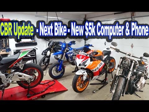 CBR Update - Next Bike - New $5k Computer & Phone
