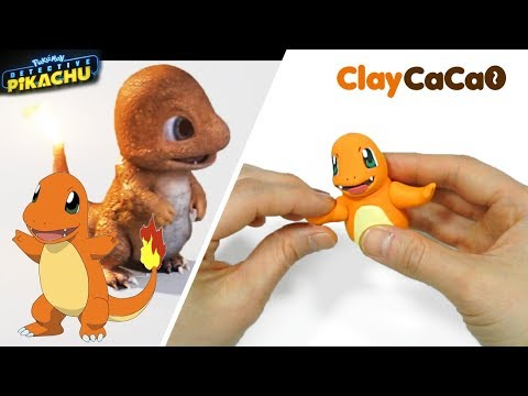 Pokemon Charmander Figure : Detective Pikachu (Warner Bros. Pictures) - Clay art No.0007
