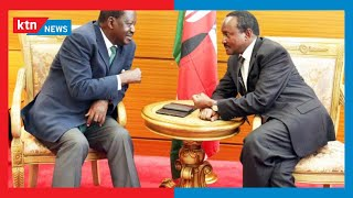 Meeting between Raila and Kalonzo sparks political outrage between leaders allied to the two