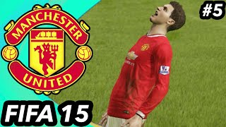 THE STRIKER PROBLEM CONTINUES - FIFA 15 Manchester United Career Mode #5