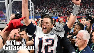 New England Patriots celebrate record-tying sixth Super Bowl after victory over LA Rams