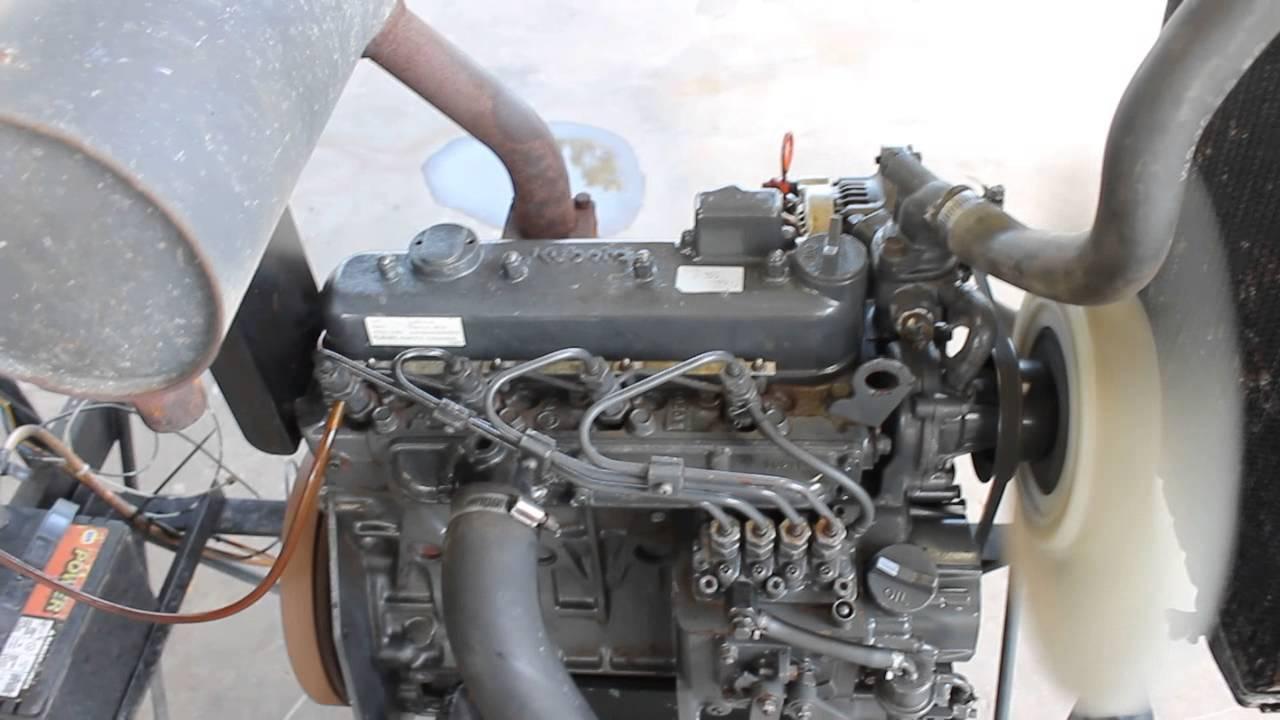 kubota v1305 diesel engine 003 YouTube – Kubota G1800 Wiring-diagram