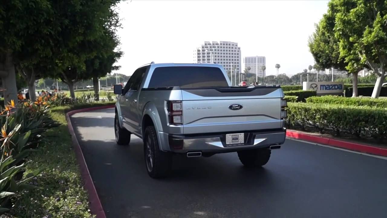 2015 Ford Atlas on the Road  Driving Details Ride Start Ups