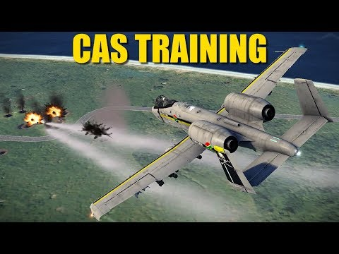 Reapers CAS Ground Attack Training | A-10 Su-25 F-5 Mirage | DCS